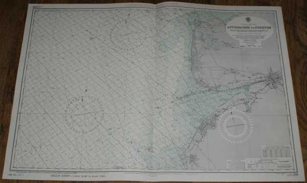 Image for Nautical Chart No. L(D3)1981 England - West Coast, Approaches to Preston