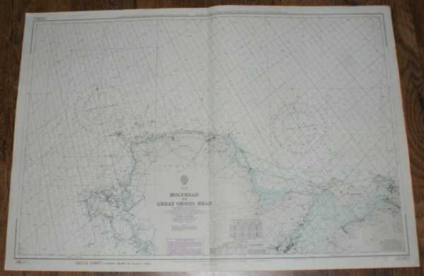 Nautical Chart No. L(D3)1977 Wales - Holyhead to Great Ormes Head, Admiralty