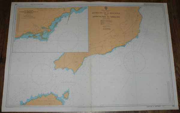 Image for Nautical Chart No. 886 North Atlantic Ocean - Islas Canarias, Estrecho de la Bocayna and Approaches to Arrecife