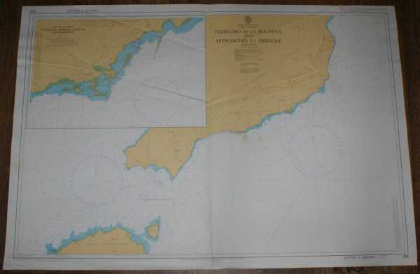 Image for Nautical Chart No. 886 Islas Canarias - Estrecho de la Bocayna and Approaches to Arrecife