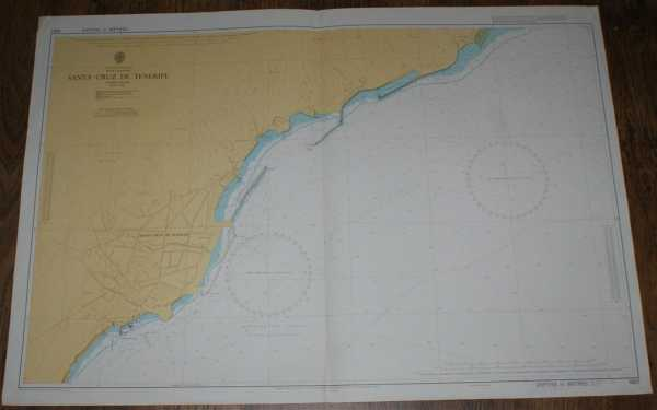 Image for Nautical Chart No. 1857 Islas Canarias - Santa Cruz de Tenerife