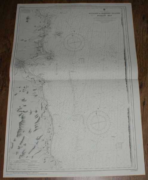 Nautical Chart No. L(D3)1468 Ireland - East Coast, Wicklow to Skerries Islands with Dublin Bay, Admiralty