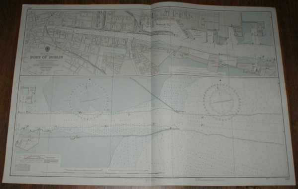 Nautical Chart No. 1447 Republic of Ireland - Port of Dublin, Admiralty