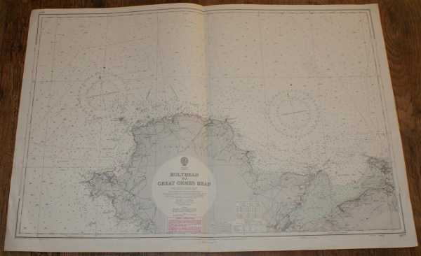 Nautical Chart No. 1977 Wales - Holyhead to Great Ormes Head, Admiralty