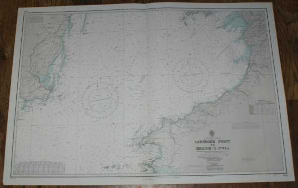 Nautical Chart No. 1410 St. Georges Channel - Carnsore Point to Braich-Y-Pwll, Admiralty