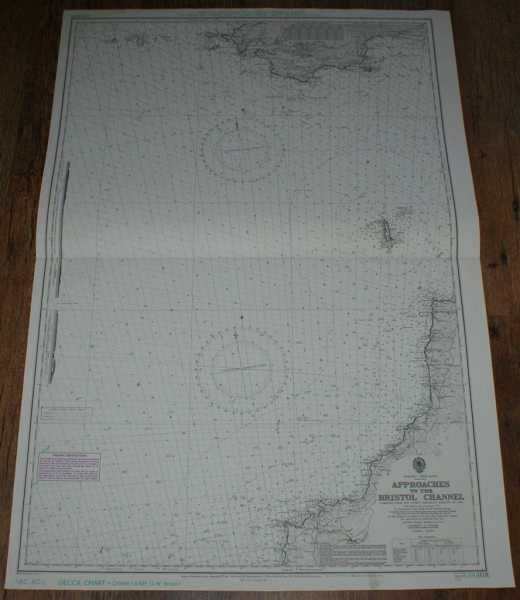 Nautical Chart No. L(D1)1178. England - West Coast. Approaches to the Bristol Channel. Scale 1:150,000., Admiralty