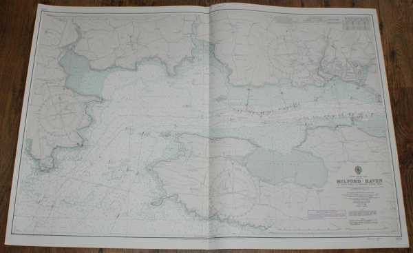 Nautical Chart No. 3274. Wales - South Coast, Milford Haven: St. Ann's Head to Newton Hoyes Pier, Admiralty