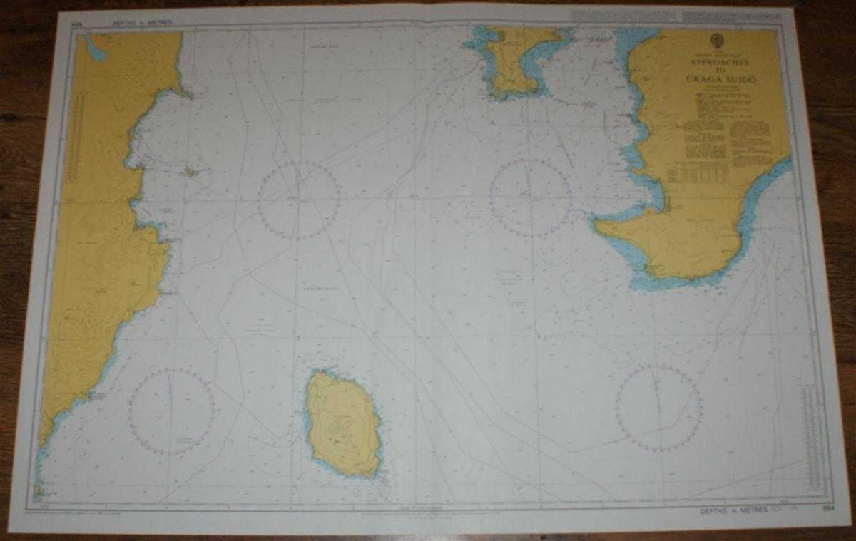 Nautical Chart No. 954 Japan, Honshu - South Coast, Approaches to Uraga Suido, Admiralty