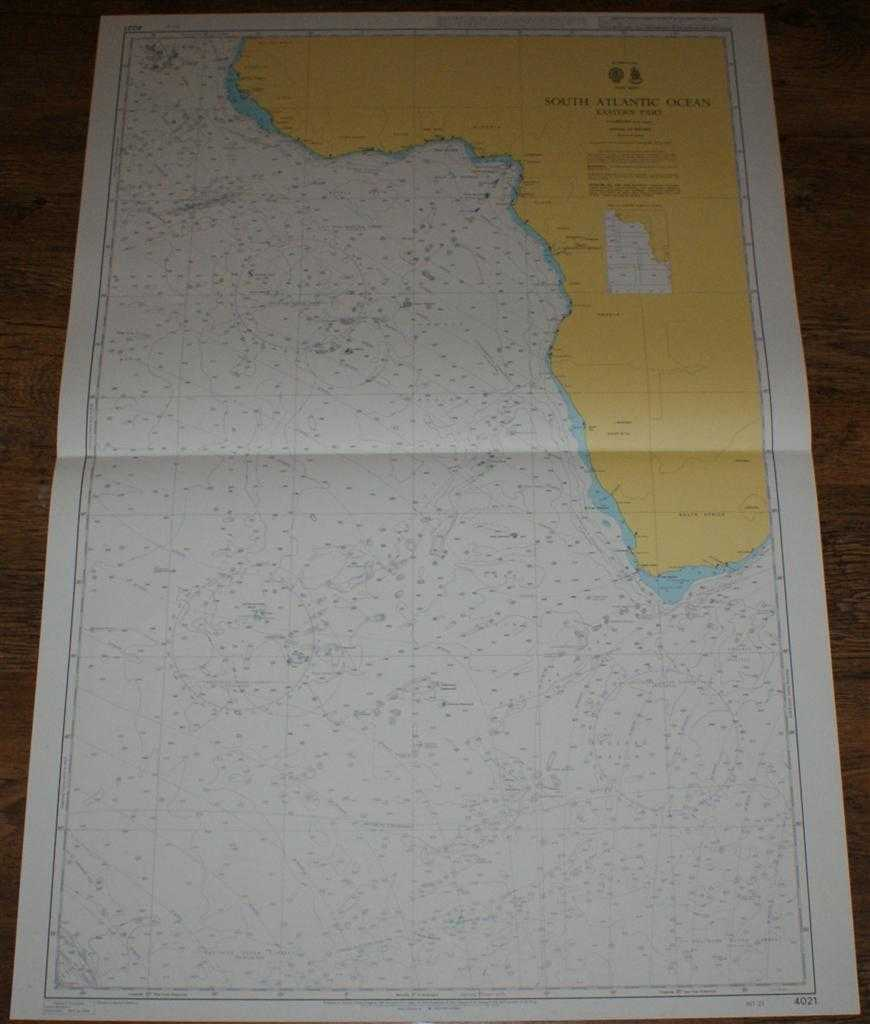 Nautical Chart No. 4021 South Atlantic Ocean - Eastern Part, Africa, Admiralty