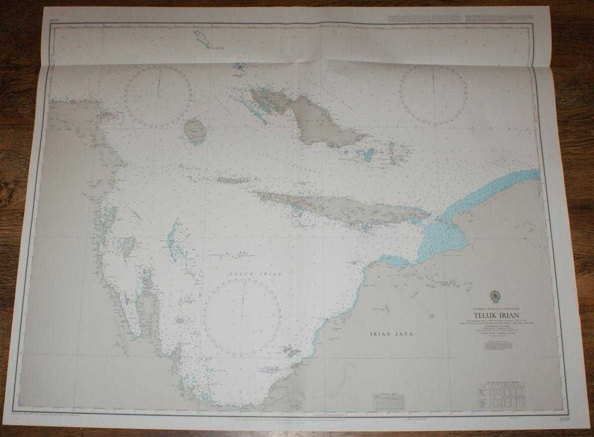 Image for Nautical Chart No. 3249 Indonesia - Irian Jaya - North Coast, Teluk Irian