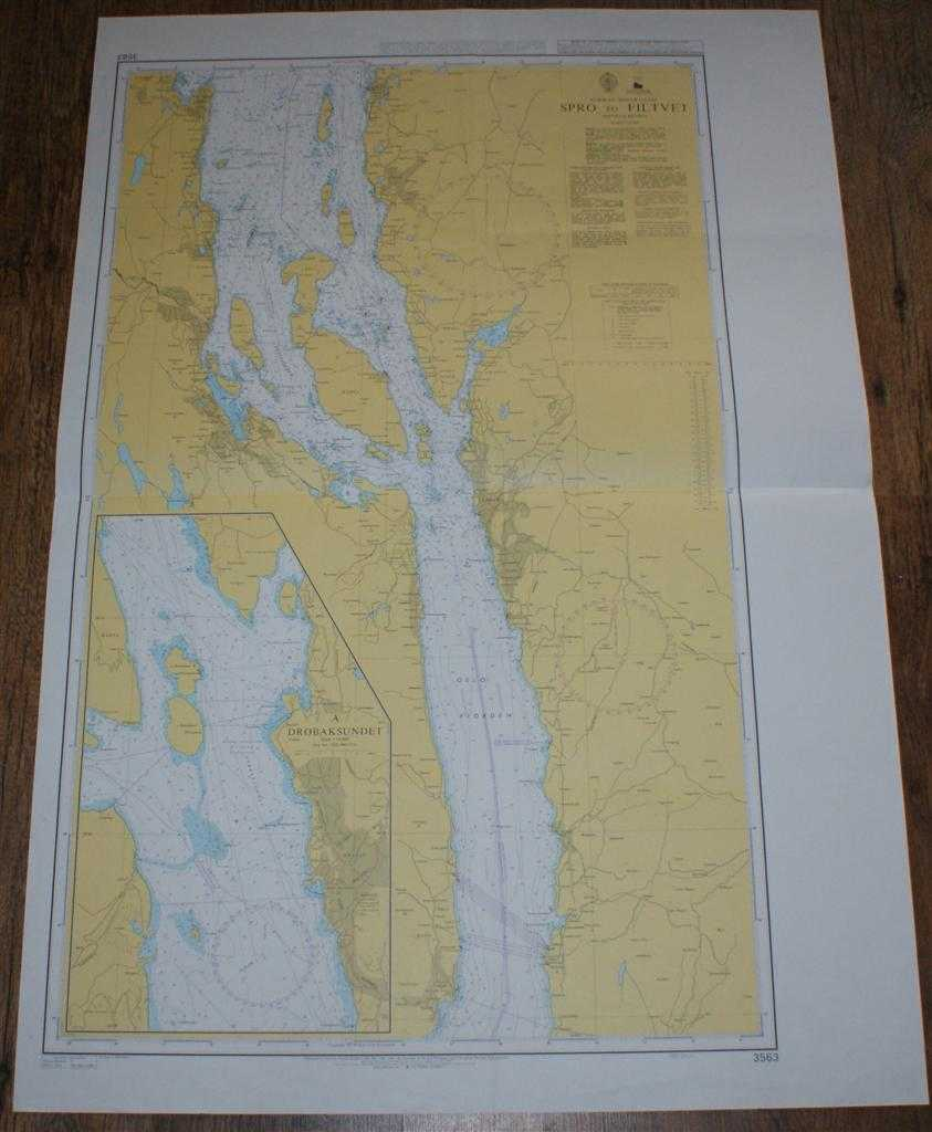 Nautical Chart No. 3563 Norway - South Coast, Spro to Filtvet, Admiralty