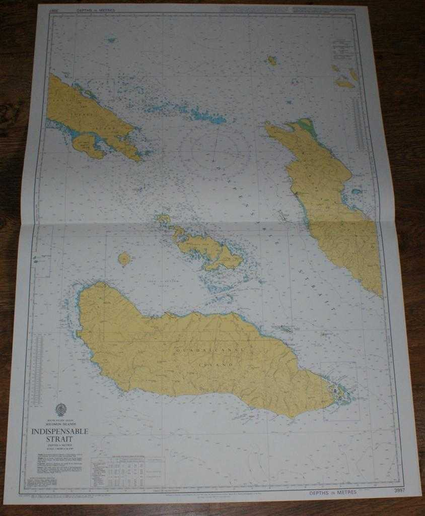 Image for Nautical Chart No. 3997 South Pacific Ocean, Soloman Islands, Indispensable Strait