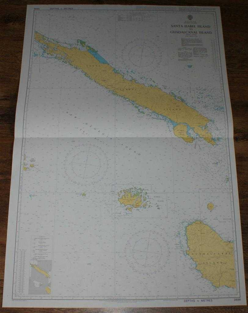 Image for Nautical Chart No. 3996 South Pacific Ocean - Solomon Islands, Santa Isabel Island to Guadalcanal Island