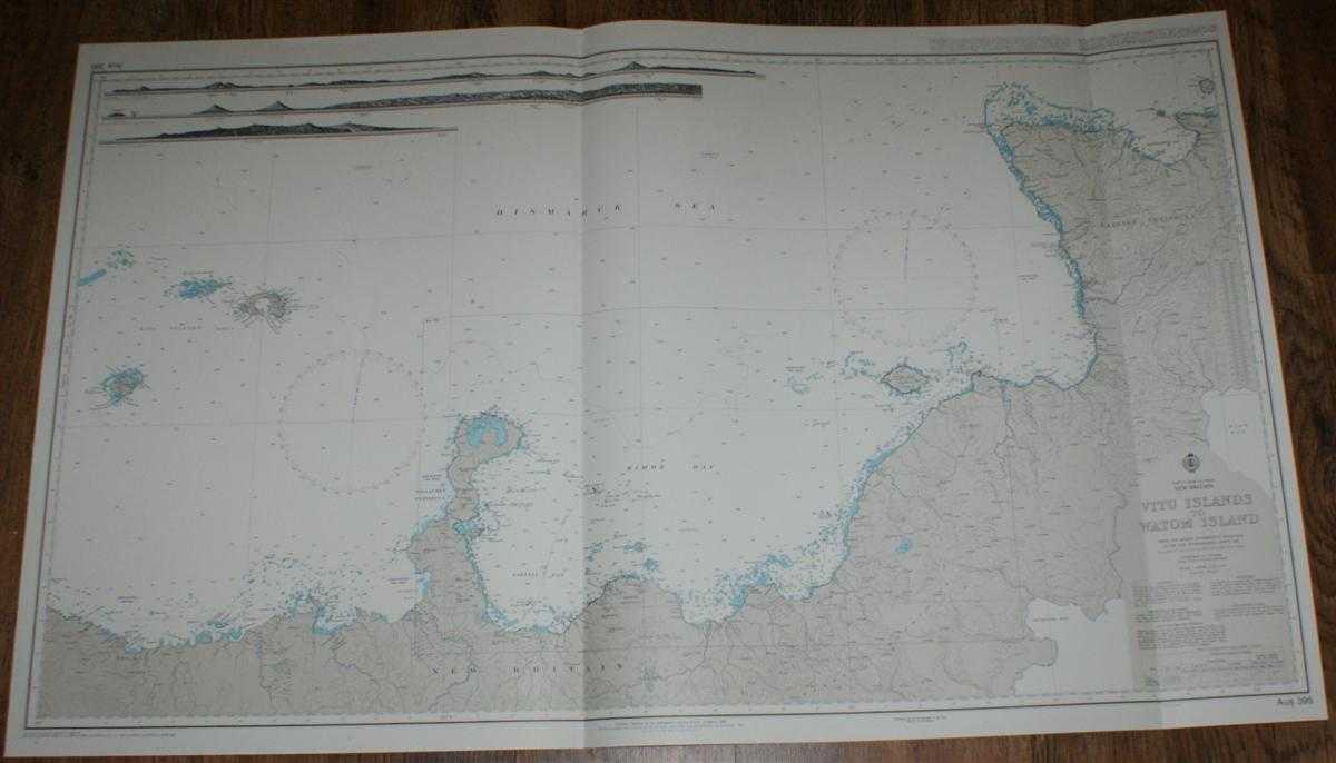 Image for Nautical Chart No. AUS 395 Papua New Guinea - New Britain, Vitu Islands to Watom Island