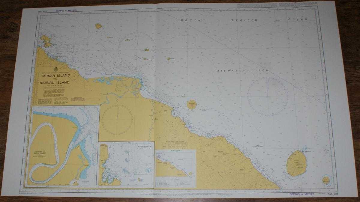 Image for Nautical Chart No. AUS 388 Papua New Guinea - North Coast, Karkar Island to Kairiru Island
