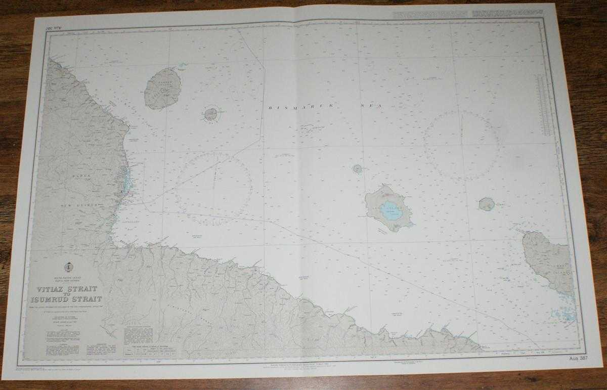 Image for Nautical Chart No. AUS 387 South Pacific Ocean - Papua New Guinea, Vitiaz Strait to Isumrud Strait