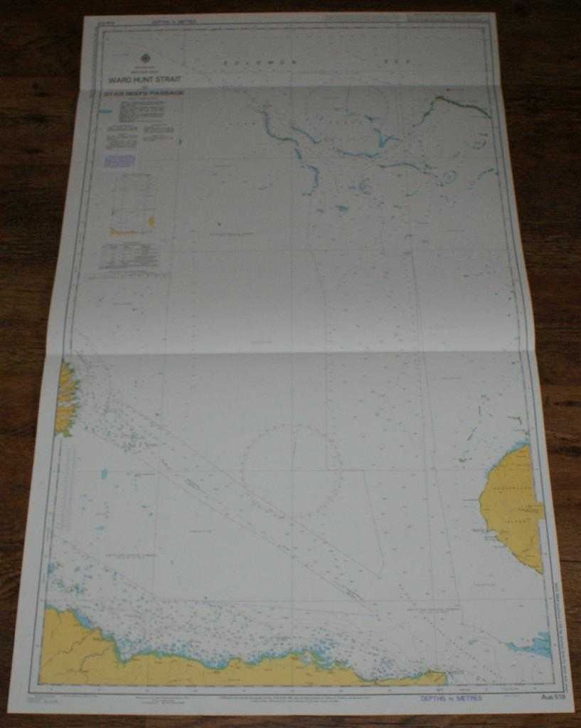 Image for Nautical Chart No. AUS 519 Papua New Guinea - North East Coast, Ward Hunt Strait to Star Reefs Passage