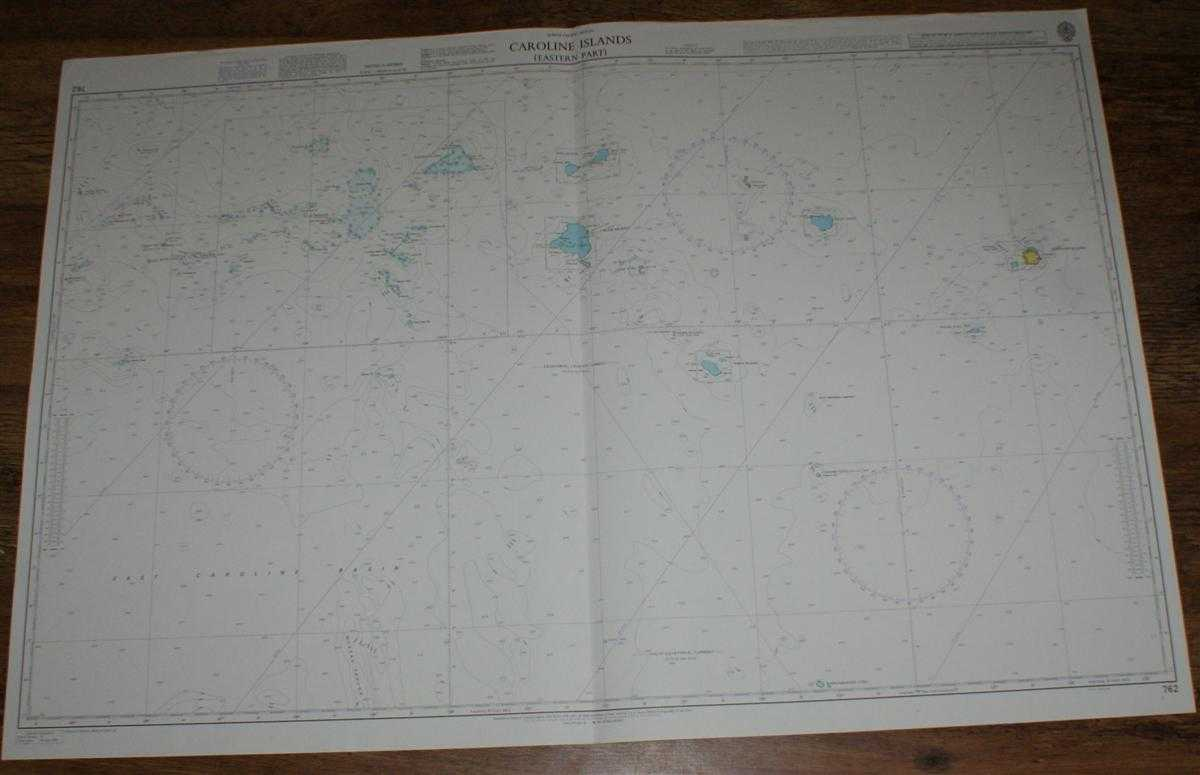 Image for Nautical Chart No. 762 North Pacific Ocean - Caroline Islands, Eastern Part