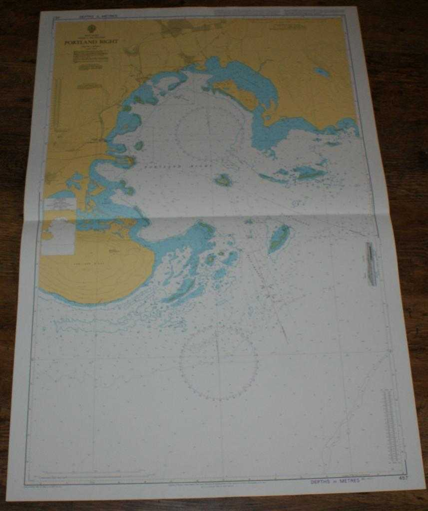 Image for Nautical Chart No. 457 West Indies, Jamaica - South Coast, Portland Bight