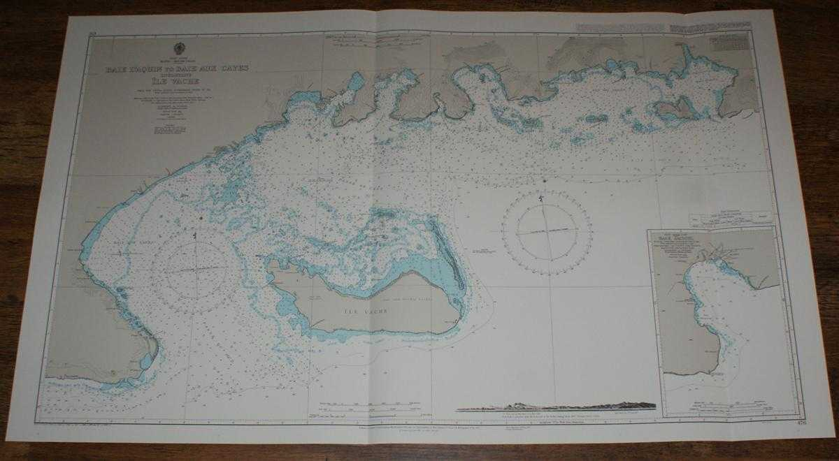 Image for Nautical Chart No. 476 West Indies, Haiti - South Coast, Baie D'Aquin to Baie Aux Cayes including Ile Vache