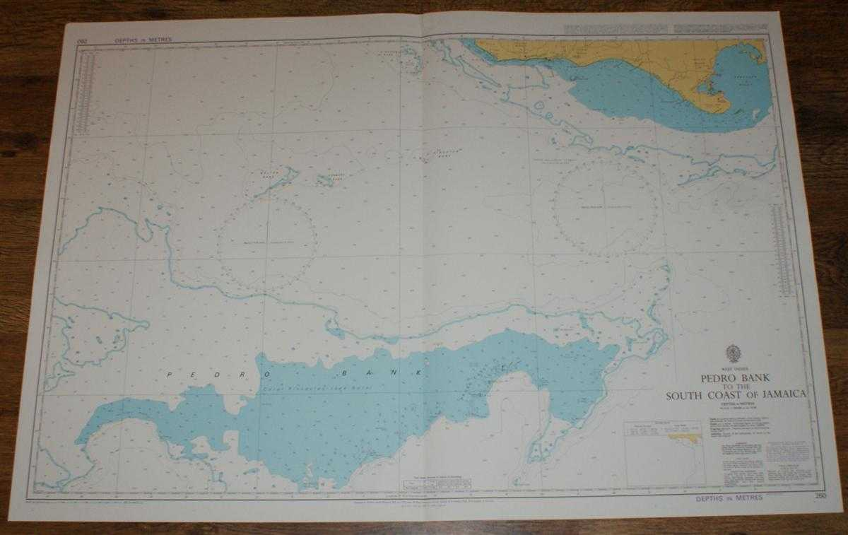 Nautical Chart No. 260 West Indies - Pedro Bank to the South Coast of Jamaica, Admiralty