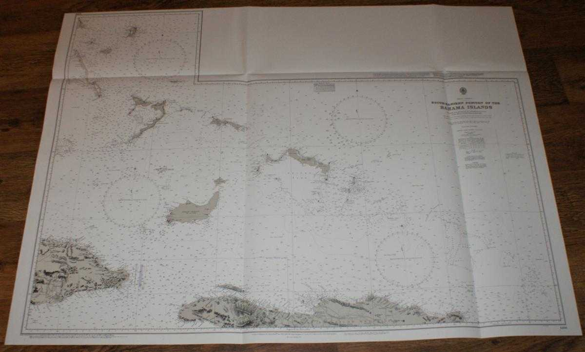 Nautical Chart No. 1266 West Indies, South-Eastern Portion of the Bahama Islands, Admiralty
