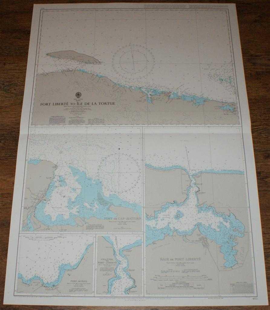 Image for Nautical Chart No. 465 West Indies - Haiti, Fort Liberte to Ile de la Tortue