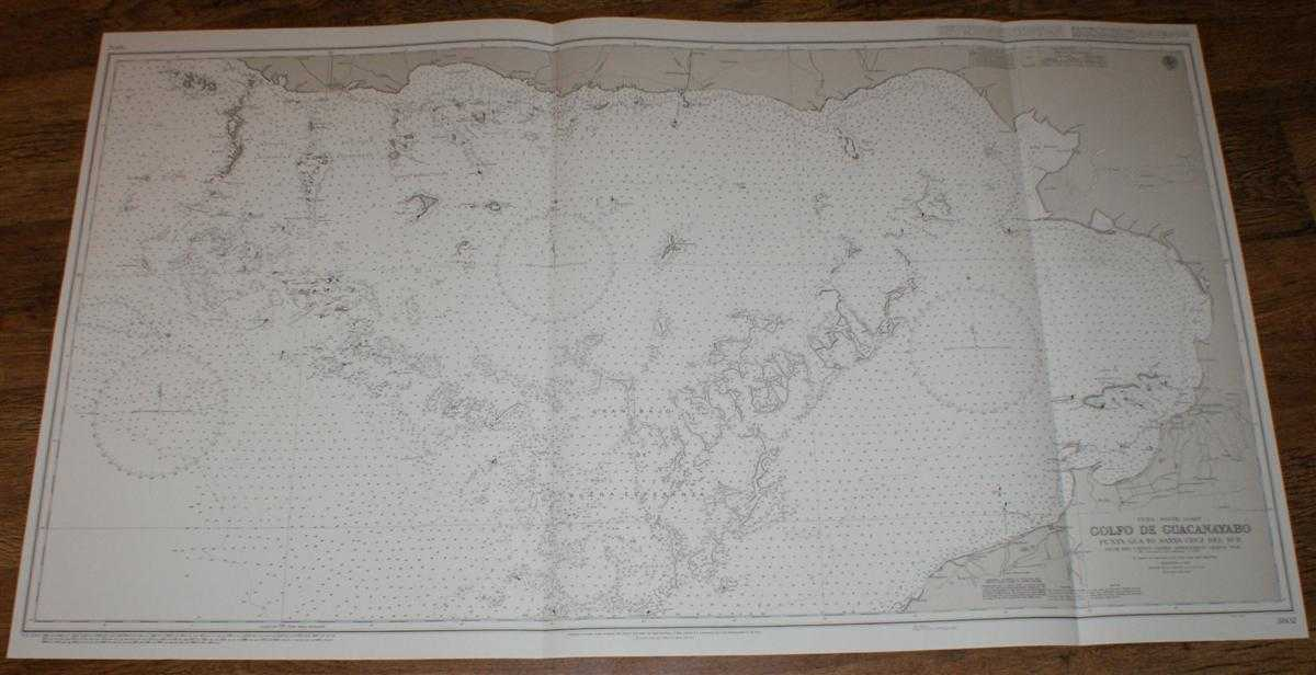 Image for Nautical Chart No. 3802 Cuba - South Coast, Golfo de Guacanayabo, Punta Gua to Santa Cruz del Sur