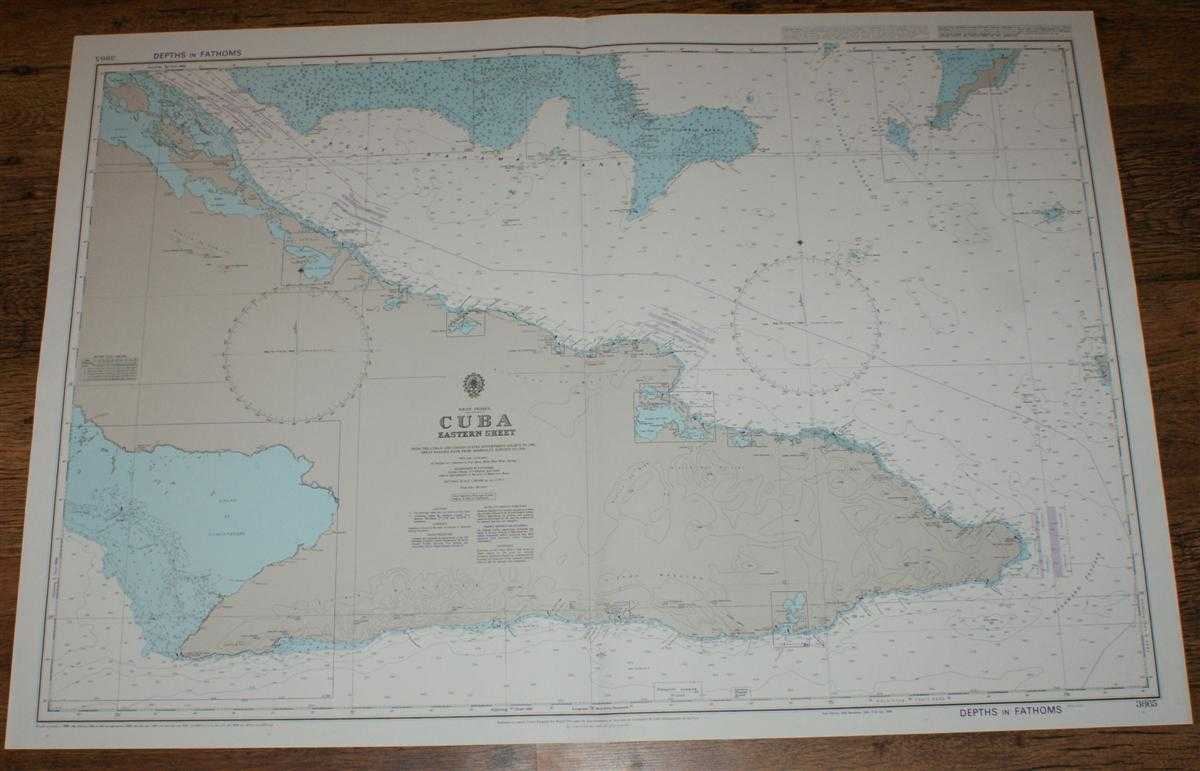 Nautical Chart No. 3865 West Indies - Cuba, Eastern Sheet, Admiralty