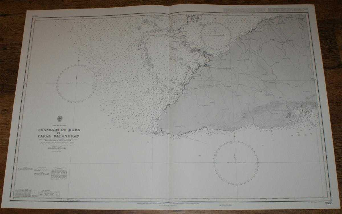 Image for Nautical Chart No. 3803 Cuba - South Coast, Ensenada de Mora to Canal Balandras