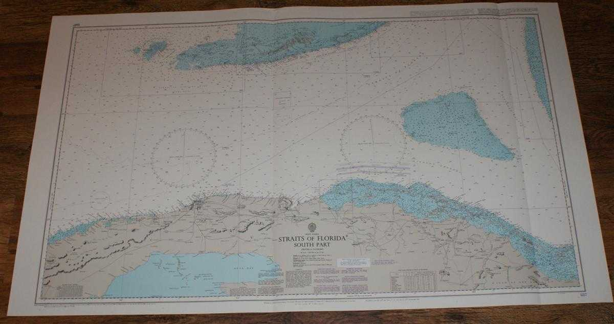 Nautical Chart No. 1217 West Indies - Straits of Florida - South Part, Admiralty