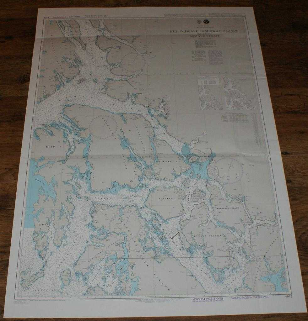 Nautical Chart No. 4972 United States, Alaska - Southeast Coast, Etolin Island to Midway Islands including Sumner Strait, Admiralty