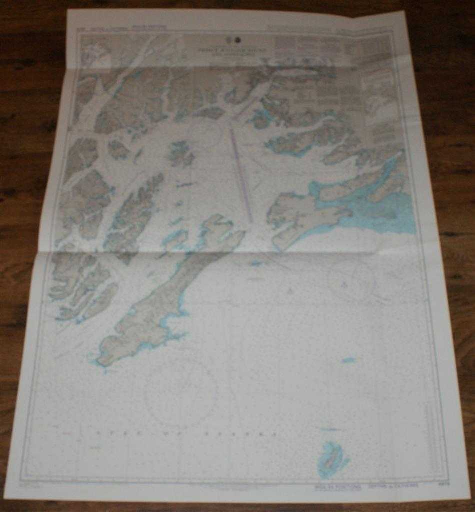 Image for Nautical Chart No. 4979 United States - Alaska, South Coast, Prince William Sound and Approaches