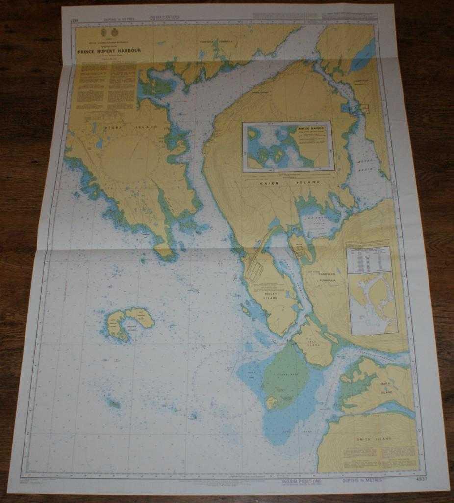 Nautical Chart No. 4937 Canada - British Columbia, Chatham Sound, Prince Rupert Harbour, Admiralty