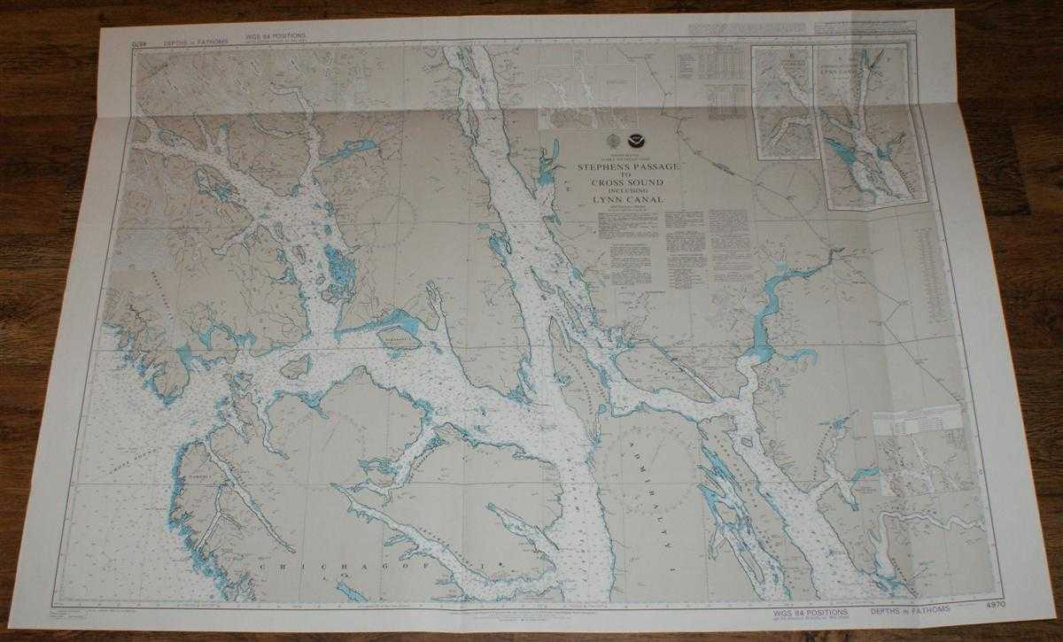 Nautical Chart No. 4970 United States - Alaska - Southeast Coast, Stephens Passage to Cross Sound including Lynn Canal, Admiralty