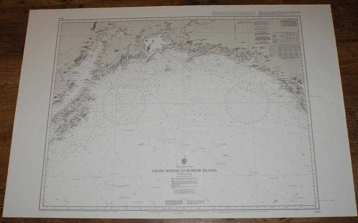 Nautical Chart No. 1499 United States - Alaska, Cross Sound to Kodiak Island, Admiralty