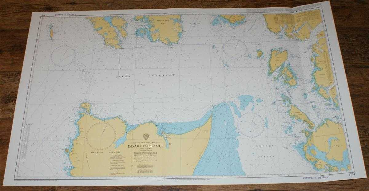 Nautical Chart No. 3754 Canada and USA - West Coast, Dixon Entrance, Admiralty