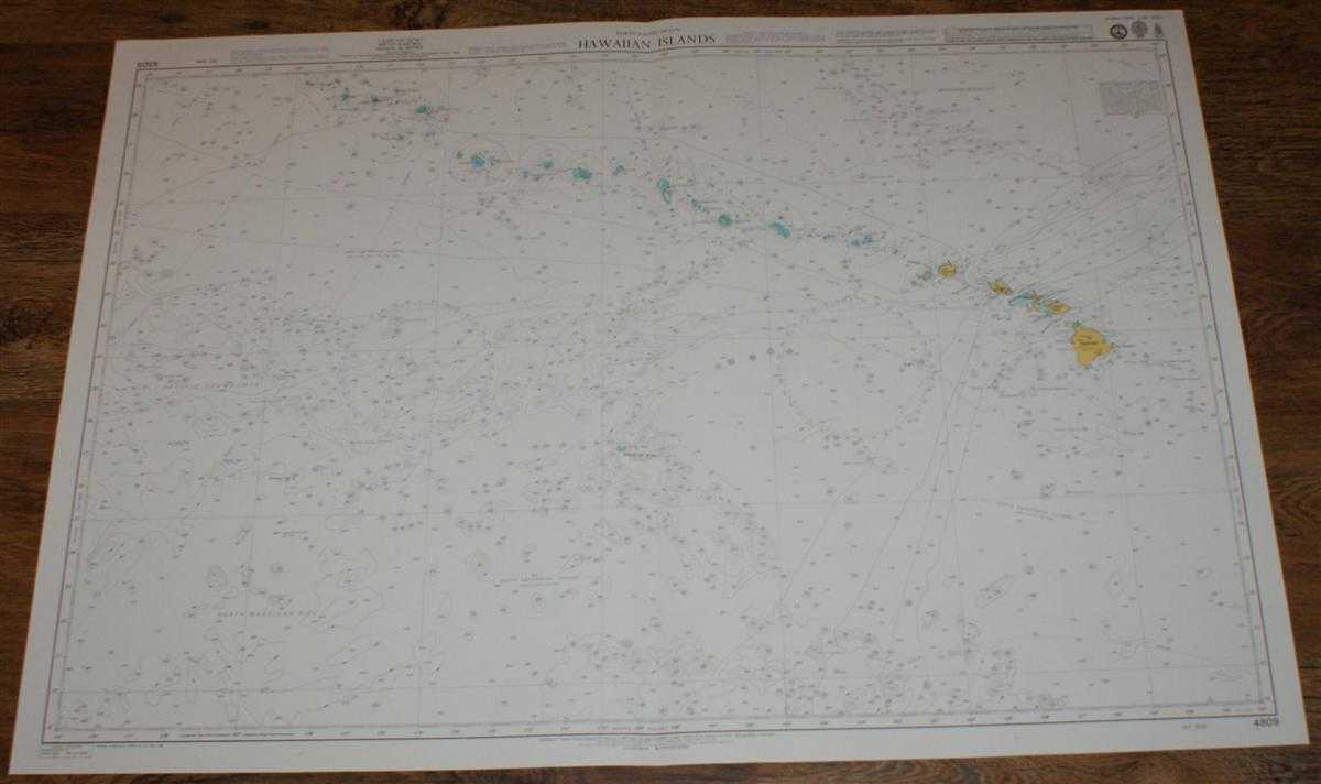 Nautical Chart No. 4809 North Pacific Ocean - Hawaiian Islands, Admiralty