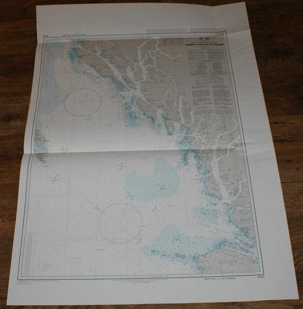 Nautical Chart No. 4923 Canada - British Columbia, Queen Charlotte Sound, Admiralty