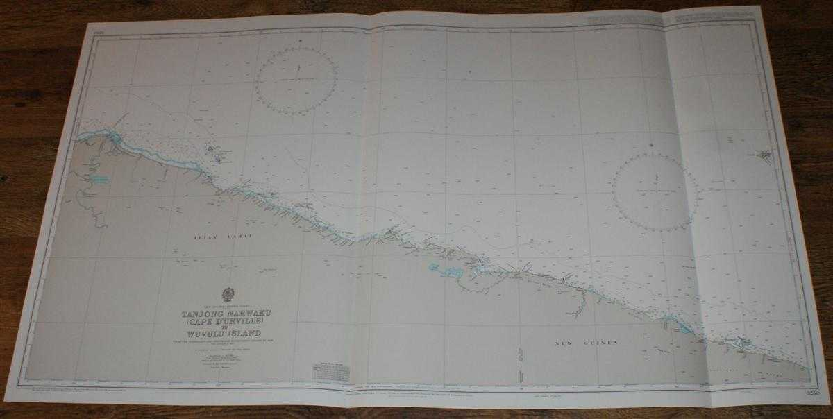 Nautical Chart No. 3250 New Guinea - North Coast, Tanjong Narwaku (Cape D'Urville) to Wuvulu Island, Admiralty