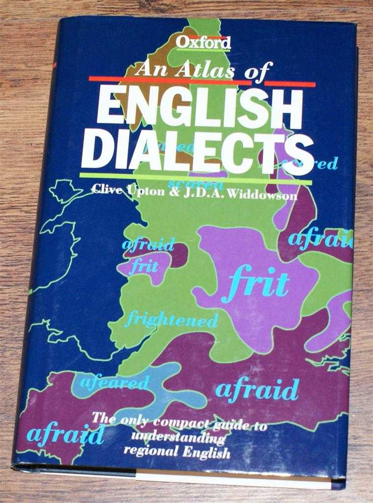 An Atlas of English Dialects, Clive Upton & J D A Widdowson