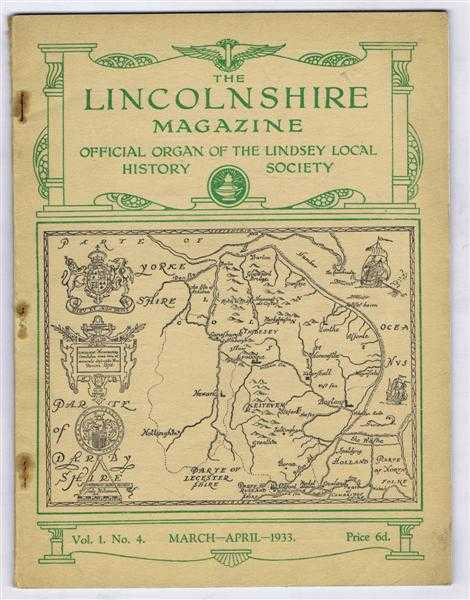 Image for The Lincolnshire Magazine, Vol. 1, No. 4, March - April 1933. Articles include:The Bulb Growing Industry; A Low Side Window; Famous Lincolnshire Organs No. 1 - Lincoln Cathedral Organs; The Pleasures of Flint Hunting; Birds in Lincolnshire etc
