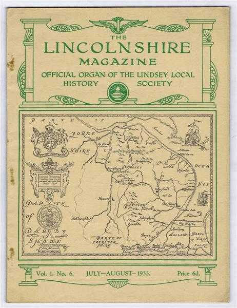 Image for The Lincolnshire Magazine, Official Organ of the Lindsey Local History Society, Vol. 1 No. 6, July-August 1933