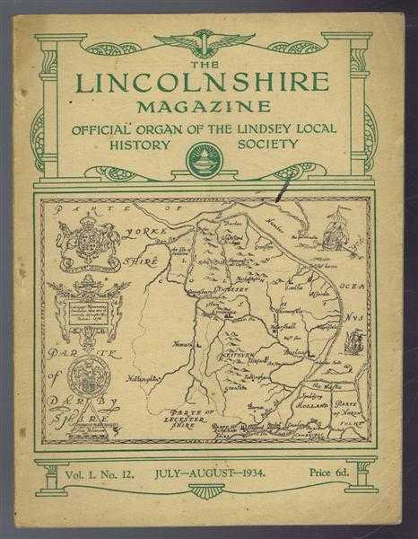 Image for The Lincolnshire Magazine, Vol 1 No. 12 July-August 1934: Lincoln and Excavating Machinery; A History of Lincoln School; Wesley's travels in His Own Country; Remembrance of Things Past; From Fen to Farm, From Heath to Husbandry - 4. The Lighthouses of Lin