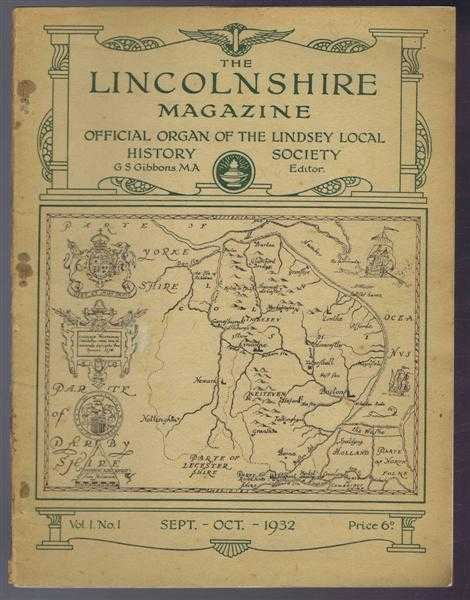 Image for The Lincolnshire Magazine - Official Organ of the Lindsey Local History Society, Vol 1, No. 1, Sept-Oct 1932: Brocklesby; The Beginnings of Lincolnshire; A Lincoln Penny of the Danish Period; Burton-Upon-Stather; Studying Local History at Old Bolingbroke;