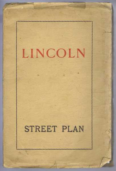 Image for Lincoln Street Plan 1947. Scale approx. 4 inches to a mile