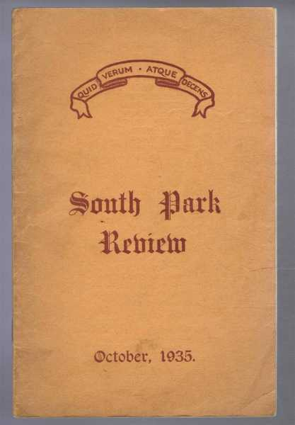 Image for South Park Review October 1935 (Lincoln)