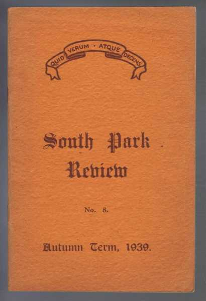 Image for South Park Review No. 8, October 1939 (Lincoln)