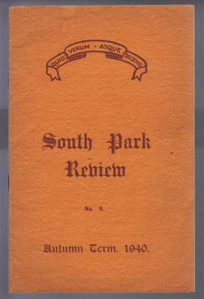 Image for South Park Review No. 9, October 1940 (Lincoln)