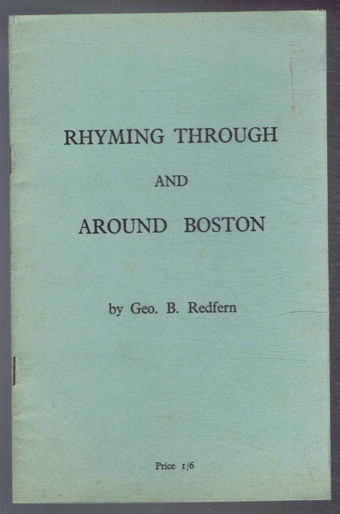 Image for Rhyming Through and Around Boston